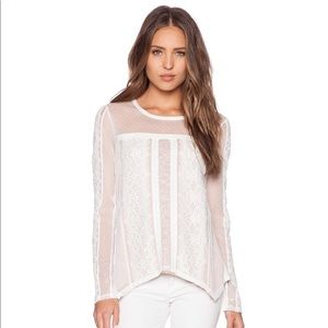 BCBG- Addyson Lace Top (Size: Small)